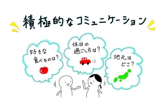 積極的なコミュニケーション